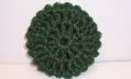 PINE GREEN NYLON NETTING SCRUBBIE